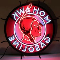 Mohawk Gasoline Vintage Look Room Decor Neon Light Neon Sign