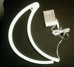 Moon LED Neon Sign Night Light Wall Light USB/Battery Powere