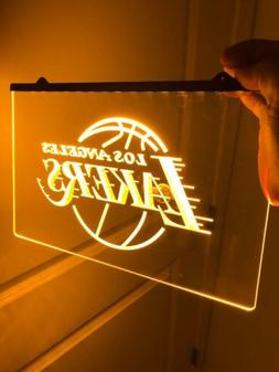 NBA LOS ANGELES LAKERS , LED Neon Sign for Game Room,Office,