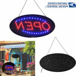 Neon LED Sign Open Light Business Displays Board for Barber