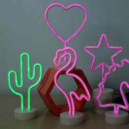 Neon LED Wall Lamp Novelty Sign Pub Lighting Gift Bedroom Ni