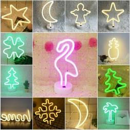 Neon LED Wall Lamp Sign Pub Lighting Gift Bedroom Night Ligh