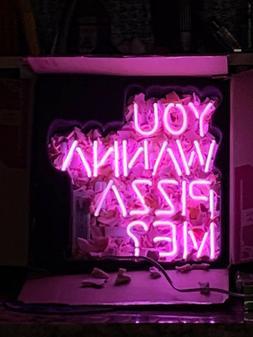 Neon Light sign Glass Cave Decor Bar game room garage artwor