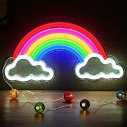 Neon Rainbow Light Festival LED Wall Decor Light Art Neon Li