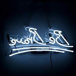 Neon Sign Be Brave Shaped Neon Lights Handmade Glass Inspiri