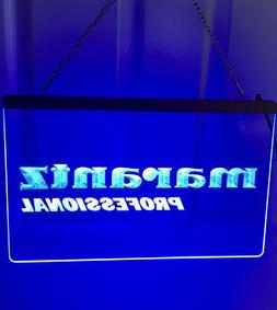 Neon Sign Marantz Professional Blue light, new!