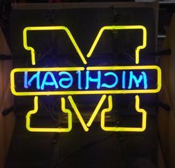 "Neon sign Michigan New in the box 15""x12"" Michigan State"