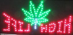 LED Neon Sign with Motion - HIGH LIFE
