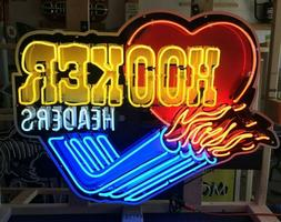 """NEON SIGNS / 39"""" HOOKER HEADERS NEON SIGN / ANIMATED NEON SI"""