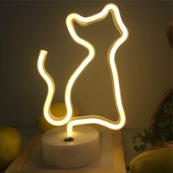 Neon Signs Cat Shape Neon Lights Led Animal Neon Night Light