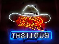 New Bud Light George Strait Hat Bar Cub Party Light Lamp Dec