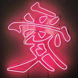 New Chinese Letter Love Artwork Wall Decor Acrylic Neon Ligh