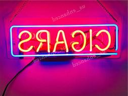 New Cigars Letter Neon Sign Acrylic Gift Light Lamp Bar Wall