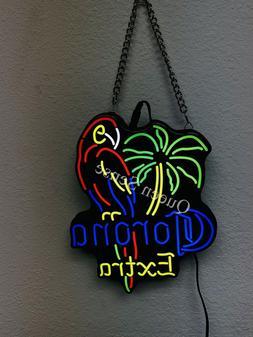 New Corona Extra Parrot Cute Super Bright Vivid LED Neon Sig