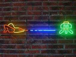 New Defender Flynn's Arcade Game Room Light Lamp Neon Sign 4