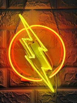 "New Flash Thunder  Wall Decor Artwork Neon Light Sign 13"" x"