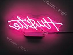 "New Hustle Light Lamp Artwork Handmade Acrylic Neon Sign 14/"""