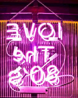 New I Love The 80S Pink Handmade Acrylic Light Lamp Neon Sig