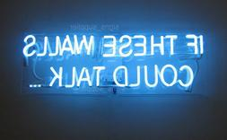 """New If These Walls Could Talk Acrylic Neon Light Sign 14"""" Ha"""