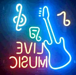 New Live Music Bar Pub Home Decor For Bedroom Acrylic Neon S