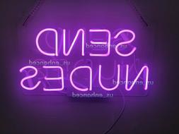 New Send Nudes Wall Decor Bedroom Light Lamp Poster Acrylic