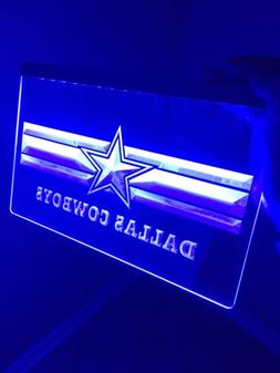 NFL Dallas Cowboys LED Neon Sign for Game Room,Office,Bar,Ma