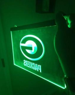 NFL GREEN BAY PACKERS LED Neon Sign for Game Room,Office,Bar