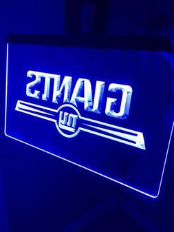 NFL New York Giants LED Neon Light Sign for Game Room,Office