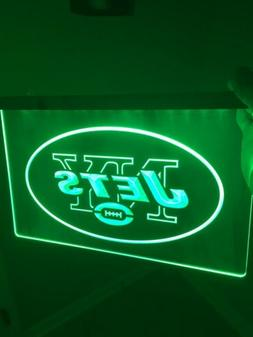 NFL New York Jets LED Neon Light Sign for Game Room,Office,B