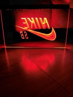 NIKE SB LED NEON LIGHT SIGN 8x12