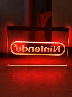 NINTENDO LED NEON LIGHT SIGN 8x12