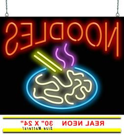 "Noodles Neon Sign | Jantec | 30""x 24"" 