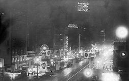 NYC, New York - Nightview of the Neon Signs