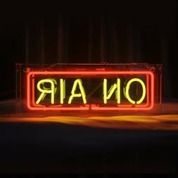 On Air Neon Sign Light Acrylic Box Studio Home Room Desk Lam