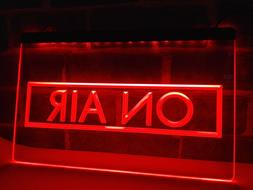 On Air Recording Studio NEW NR LED Neon Light Sign home deco