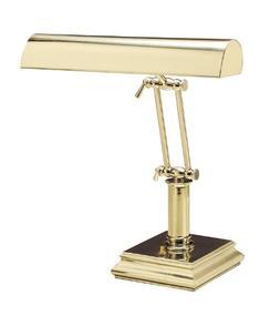 "House of Troy P14-201 Portable Desk/Piano Lamp, 14"", Polishe"