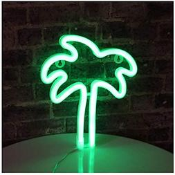 Palm Tree LED neon Sign Night Light Coconut Tree Marquee Nig