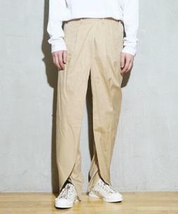 neon sign pencil slacks Deformation Pants Beige Size 44 NEW