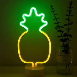 Pineapple Neon Light Signs LED Neon Signs PineappleLamps wit