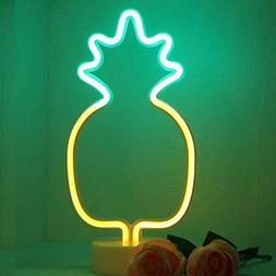 LED Pineapple Neon Light Signs - XIYUNTE Room Decor Neon Lig