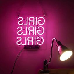 Pink Cool Neon Signs Girls Decorative Lights Cute Lamp For B