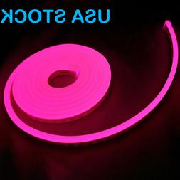 Pink Led Neon Rope Light for Advertising Sign DIY Lights Hom