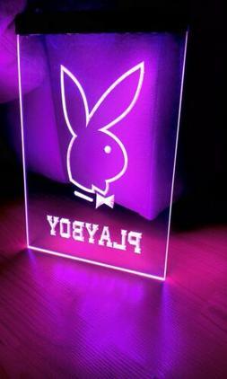 PLAYBOY LED NEON PURPLE LIGHT SIGN 8x12