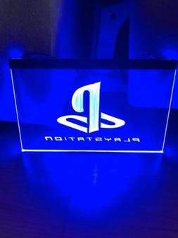 PLAYSTATION LED NEON LIGHT SIGN 8x12