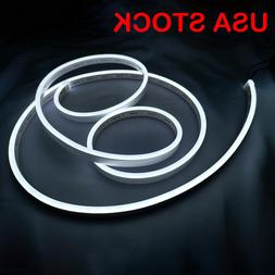 Pure White Flex Neon LED Rope Light for Letter Sign Making H