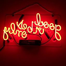 LiQi 'BE KIND ' Real Glass Handmade Neon Wall Signs for Room