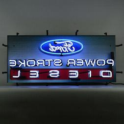 Real Neon sign Roadside Drive in diner with LED lights  Cafe