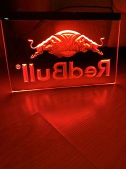 RED BULL LED NEON LIGHT SIGN 8x12