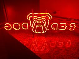 Red Dog Neon Bar Sign