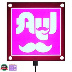 Rideshare sign for UBER LYFT ACCESSORIES LOGO GLOW LED Remov